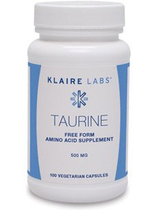 Klaire Labs - Taurine 500 mg 100 vcaps