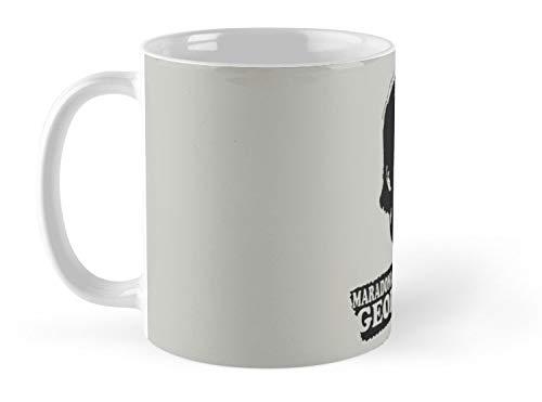 Good Pele Better George Best Mug - 11oz Mug - The best gift. (George Best And Pele)