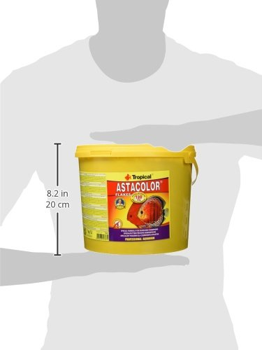Tropical astac olor farbfoerd erndes fiocco di mangime, 1er Pack Pack Pack (1 X 5 L) 5e2c0f