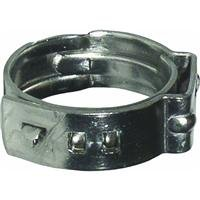 Watts P-772 3/4-Inch Stainless Steel Cinch Clamp for 3/4-Inch PEX Pipe, 10-Pack