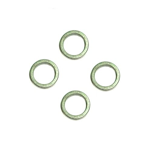 Set of 4 Steel Spanner Bushing Spacer Reducers 3/4'' OD x 1/2'' ID x 1/8'' Thick