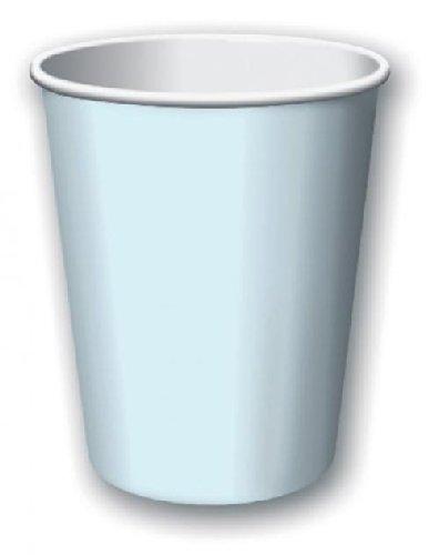 Paper Hot & Cold Cups 9 Ounces 8/Pkg-Pastel Blue
