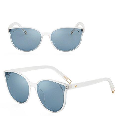 Brass Gafas Las Sol ULTRAVIOLETA Gafas Color Polarizadas Protección De Retro De WANGXIAOLIN Sol De Los Azul Hombres De adwRRq