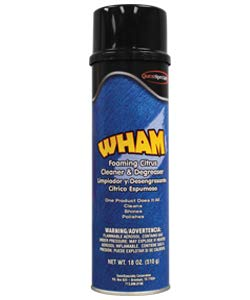 2070 WHAM Foaming Citrus Cleaner & Degreaser (6 Dozen)