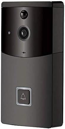 ビデオドアベル、スマートホームWIFIワイヤレススモールドアベル、リモートビデオインターホンB10ビデオカメラサポート