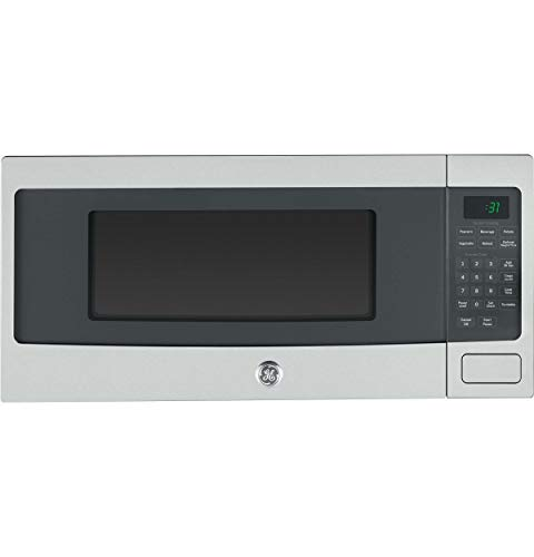(GE PEM31SFSS Profile Stainless Steel Countertop Microwave (Renewed))