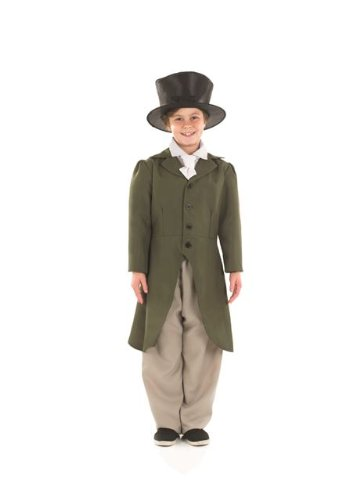 [Victorian Regency Boy Childs Fancy Dress Costume - M 50inch Height] (Childrens Fancy Dress Costumes Uk)