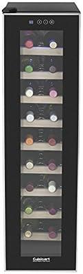 Cuisinart CWC-1800TS 18-bottle Private Reserve Wine Cellar, Black
