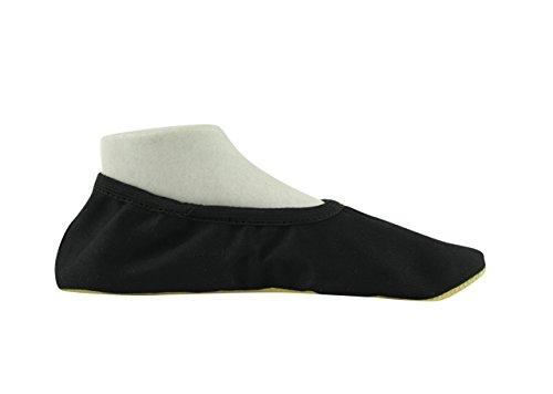 danza da YUMP ballerine Essentials da Nero 9 Soft cotone in YUMPZ ginnastica scarpette classica 68gqB6