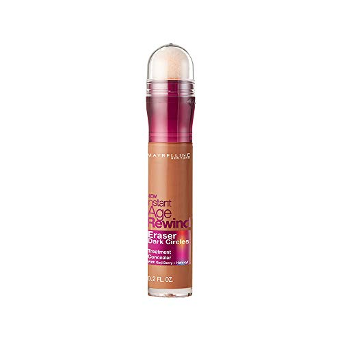 Maybelline Instant Age Rewind Eraser Dark Circles Treatment Concealer, Hazelnut, 0.2 fl. oz. ()