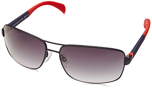S Sonnenbrille Bleu Mblue 1258 Tommy Hilfiger Red Grey TH Iqnfv