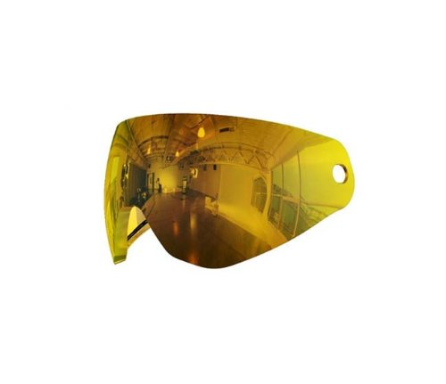 HK Army KLR PURE Dual Pane Thermal Lens for Paintball Mask -Mirror Prestige Gold