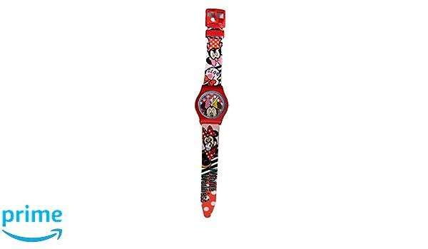 Disney Minnie Selfie - Reloj infantil, diseño de Minnie, incluye cartera: Amazon.es: Relojes
