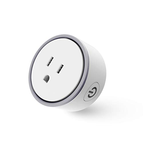 Konke Smart Wi-Fi Plug- Control Your Devices from Anywhere,No Hub Required,Support Amazon Alexa App and Google Home Remote Control by Konke