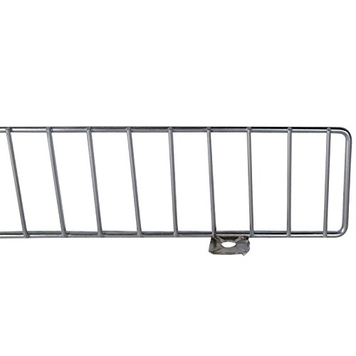 AWP CA-FDF348CN-1 Chrome Front Fence Lozier/Madix, 3 x 48 Size, Chrome, (Pack of 25) by AWP (Image #1)