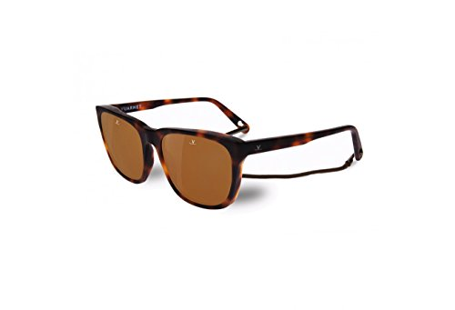 3b06cee0acb1a Vuarnet VL160800062622 Alain Sunglasses Matte Light Tortoise Brown  Polarized Glass Lens