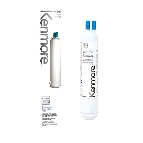 Sears Water Filter Cartridge - Kenmore 9915 Genuine Kenmore Refrigerator Water Filter for KENMORE,KENMORE Elite Genuine Original Equipment Manufacturer (OEM)