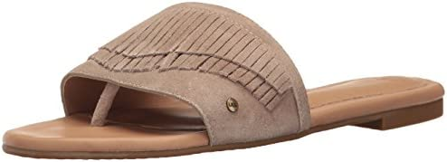4426f5cab3d UGG Women's Binx Flat Sandal, Sand, 7 US/7 B US: Amazon.com ...