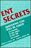 ENT Secrets, Bruce W. Jafek, Anne K. Stark, 1560531592