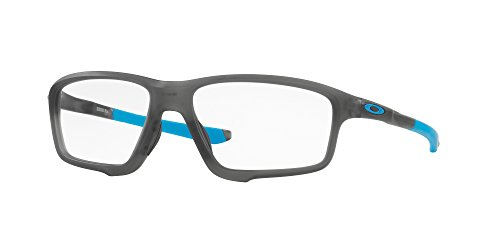 Eyeglasses Oakley Frame OX 8076 807601 SATIN GREY SMOKE (Prescription Glasses Sports)