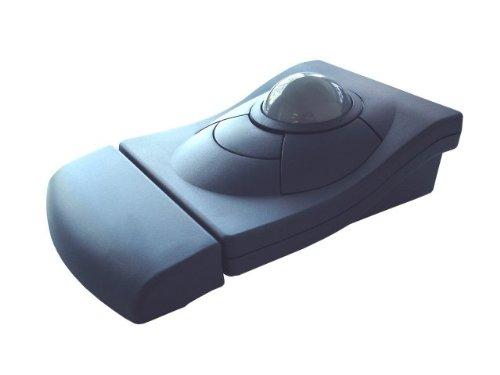 iOne Libra 90 PU Ergonomic Trackball Mouse PS/2 + USB White Color by iOne