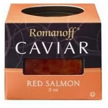 Romanoff Caviar Red Salmon Select by Romanoff