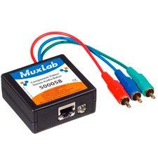 MuxLab 500058 VideoEase Component Video/Stereo Audio Balun ()