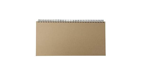 MUJI - Agenda de escritorio (350 x 170 mm): Amazon.es ...