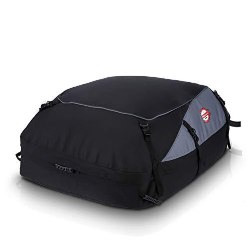 adakiit Car Roof Bag Top Carrier Cargo Storage