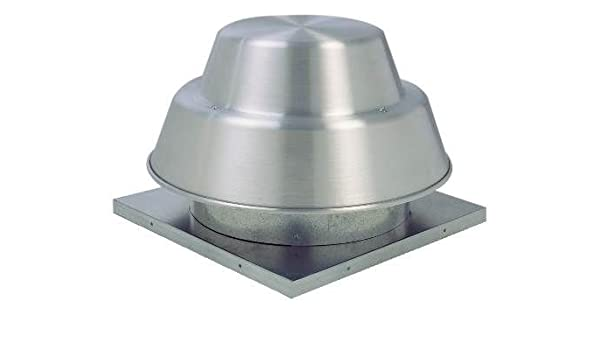 Fantech 5ddd15ca techo ventilador, downblast, Direct Drive centrífugo, 1/3 HP, 115 V, 1 PH, ODP, 15