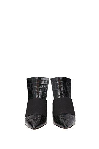 Negro Givenchy BE09166135 Piel EU Sandalias Mujer Tqazw41C