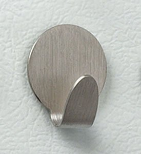 Spectrum Magnetic Round Hook Brushed