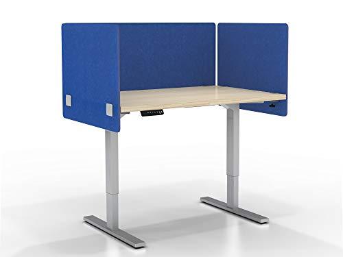 - VaRoom Acoustic Partition, Sound Absorbing Desk Divider KIT - (1) 60