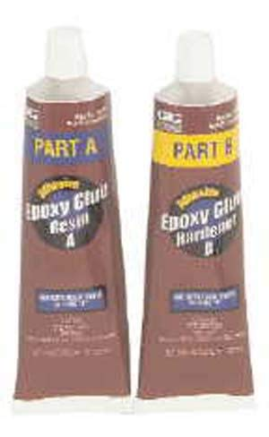 10-347 - Adhesive, Epoxy - 2 Part, Grey, Room Temperature, Tube, 2 fl.oz (US) (Pack of 2) (10-347) by GC ELECTRONICS (Image #1)