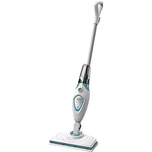 Black+Decker Microfiber Floor Steamer Mop Cleaner with Swivel Steering (Floor Steamer Eureka compare prices)