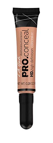 - L.A. Girl Pro Conceal HD Concealer, Peach Corrector, 0.28 Ounce