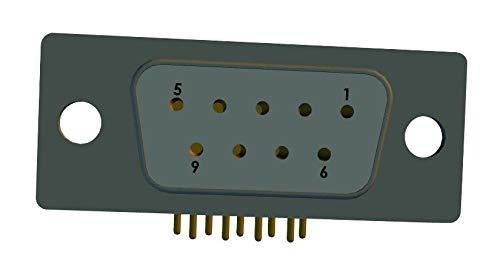 D-SUB Connector R//A RCPT NORCOMP 15POS TH 174-E15-213R461