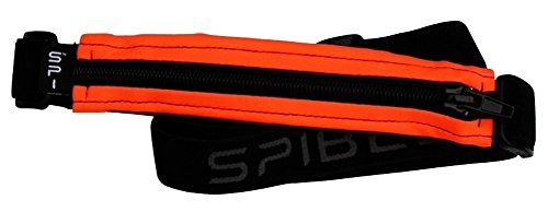 Runner Belt - SPIbelt Sports/Running Belt: Original - No-Bounce Running Belt for Runners, Athletes and Adventurers - Fits iPhone 6 and Other Large Phones, Orange