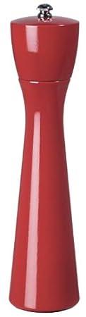 MADE IN U.S.A. Walnut Stain Adjustable Coarseness Fine to Coarse Fletchers Mill Tronco Pepper Mill 10 Inch