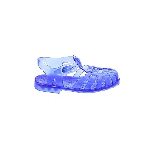 Méduse plastique Bleu bleu Sandales translucide en FwqFRr