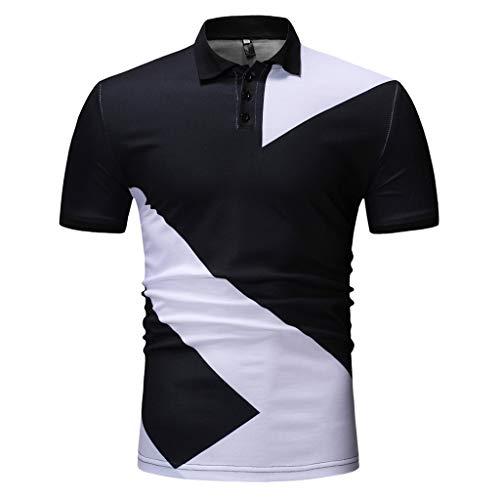 Rockford Sweatshirt - Simayixx Golf Shirts for Men Plus Size Dry Fit Athletic Tee Blouse Holiday Tops Button Sweatshirts Jacket Coat Black