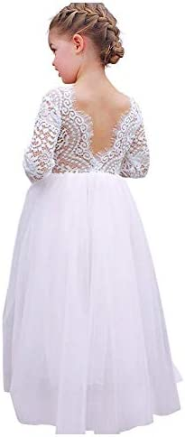 luckymily Backless Sleeve Pageant Princess