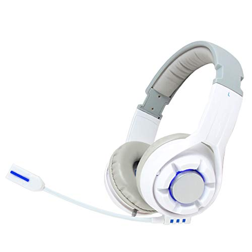 Fly E-Sports Gaming Headset 7.1 Multi-Channel Surround Line-Controlled Headset Computer Headset White Headset by Fly