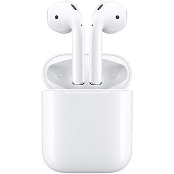 Apple Airpods Completo inalámbrico Auriculares con Bluetooth Compatible con micrófono (Blanco) y # x3010; Japón Productos domésticos auténtica y # x3011;: ...
