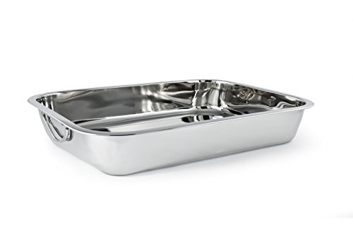 Cuisinox PAN-40 Rectangular Roasting Pan, 40 by 28.25cm