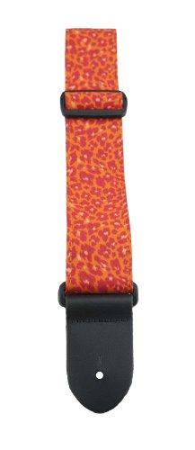 Perris Leathers FWS20-1661 2-Inch Designer Fabric Strap, Orange Animal (Fabric Emporium)