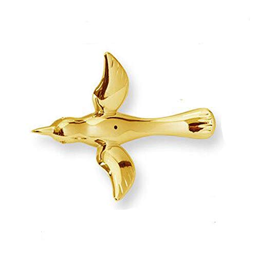 (Laugh Cat Creative Gold DIY Flying Bird Decorative Hanging Ornaments for Ceiling Light Wedding Kindergarten Shopping Mall Home Window Decoration (10, Gold) )