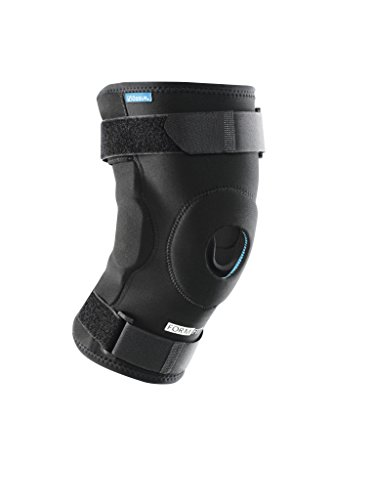 Ossur Formfit Hinged Knee Sleeve (Non-ROM) - Open Patella Stabilizer for Meniscus ACL, PCL, MCL, LCL Ligament Relief Support (XX-Large)