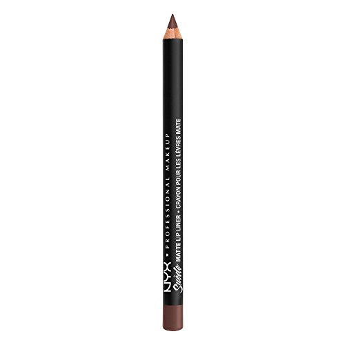 NYX PROFESSIONAL MAKEUP Suede Matte Lip Liner, Los Angeles 2.0, 0.035 Ounce
