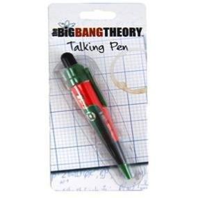 Elegant The Big Bang Theory Talking Pen   Sheldon